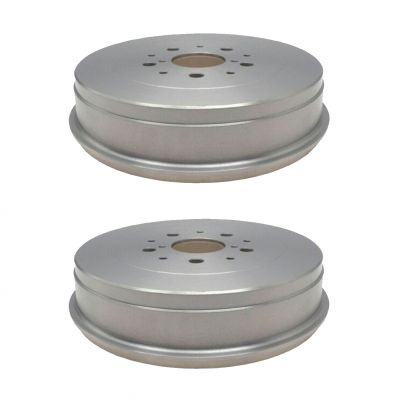 Pair (2) Rear Brake Drums for 2005-2014 Toyota Tacoma 6 Lug