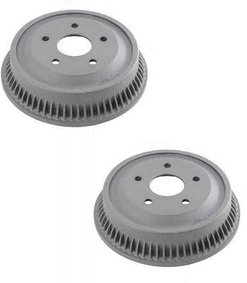 "Pair (2) 13.54"" (344mm) Rear Brake Drum Set for 1994-1999 Dodge Ram 1500"