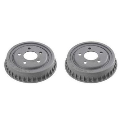 "Pair (2) Rear Brake Drums 9"" Drum Brake Shoes Only for 1998-2009 Ford Ranger - [2001-2009 Mazda B2300] - 1998-2001 B2500 - [1998-2007 B3000] - 1998-2010 B4000"