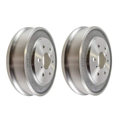 "Pair (2) 12.87"" 327mm REAR  Brake Drum Set for 2000-2002 Dodge Dakota Durango"