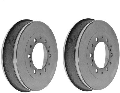 Pair (2) Rear Brake Drums For 2004-2012 Chevy Colorado GMC Canyon