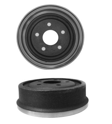 Pair (2) Rear Brake Drums for 1987-1996 Ford Bronco - [1994-2002 Ford E-150 Econoline Club Wagon] - 1994-1996 Ford F-150