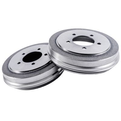 Pair (2) Rear Brake Drums for 95-97 Chevy Blazer - [93-97 Camaro] - 96-02 S10 - [92-97 GMC Jimmy] - 96-02 GMC Sonoma - [96-00 Isuzu Hombre] - 92-94 96 Olds Bravada - [93-97 Pontiac Firebird]