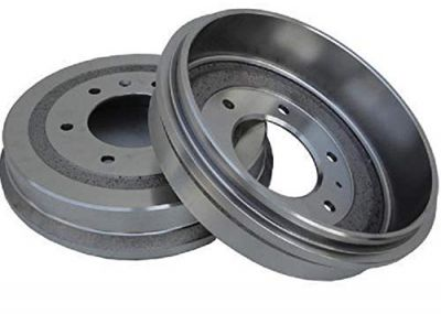 "Pair (2) Rear Brake Drums for 4WD 11"" Rear Drums - [1995-1999 GMC Yukon] - 1992-1999 GMC K1500 Suburban - [1999-2000 Cadillac Escalade]"