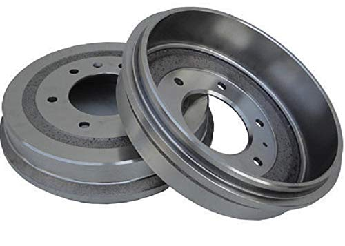 Pair (2) Rear Brake Drums for 4WD 11
