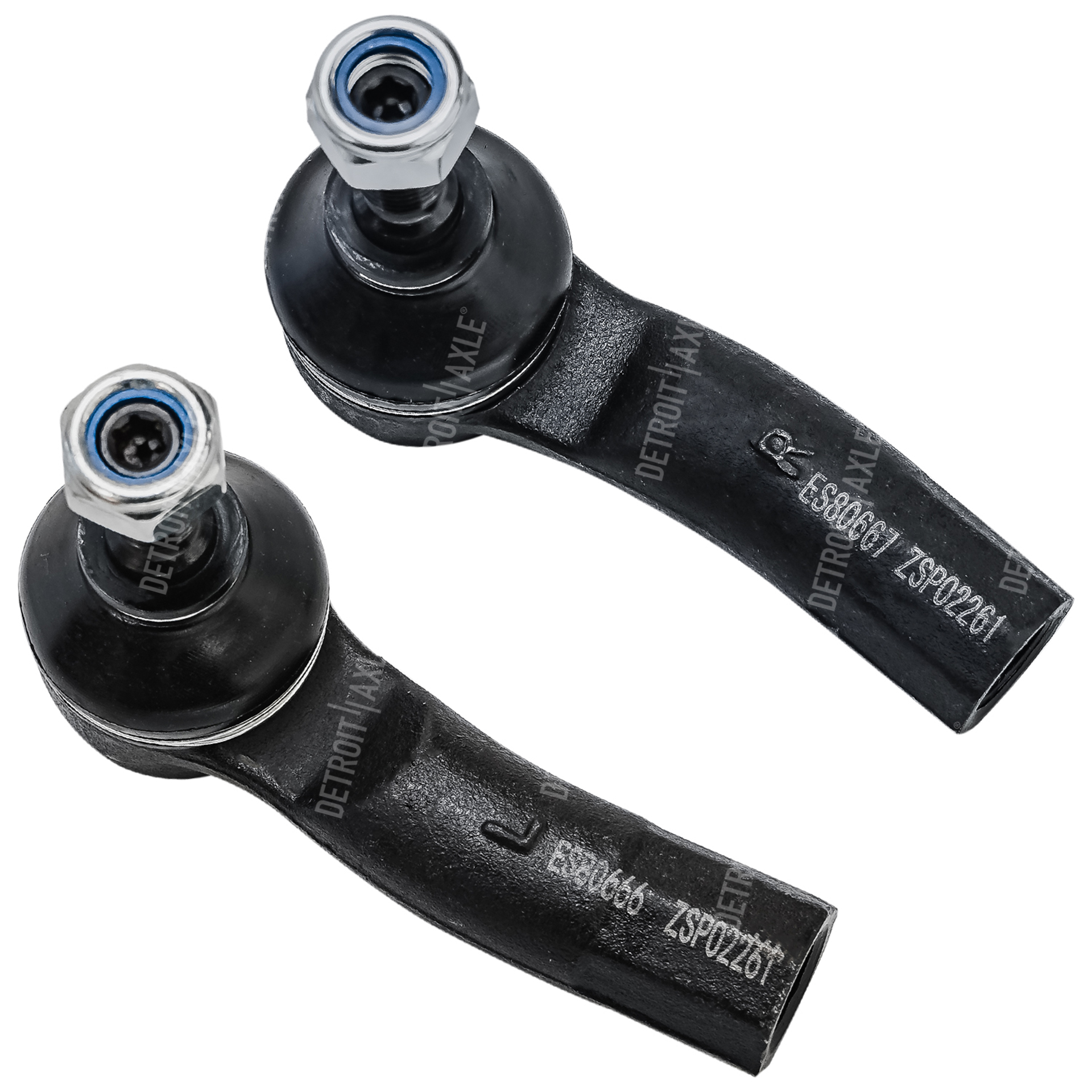 Front Outer Tie Rod Ends Driver and Passenger Side fits Volkswagen, Audi