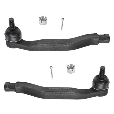Pair (2) Front Steering Outer Tie Rod End - Driver and Passenger Side - For - 1992-1996 Honda Prelude