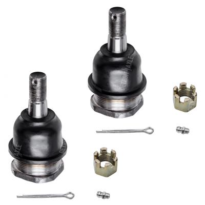 Both (2) Brand New Driver & Passenger Side Front Upper Ball Joint fits Heavy Duty Suspension Models