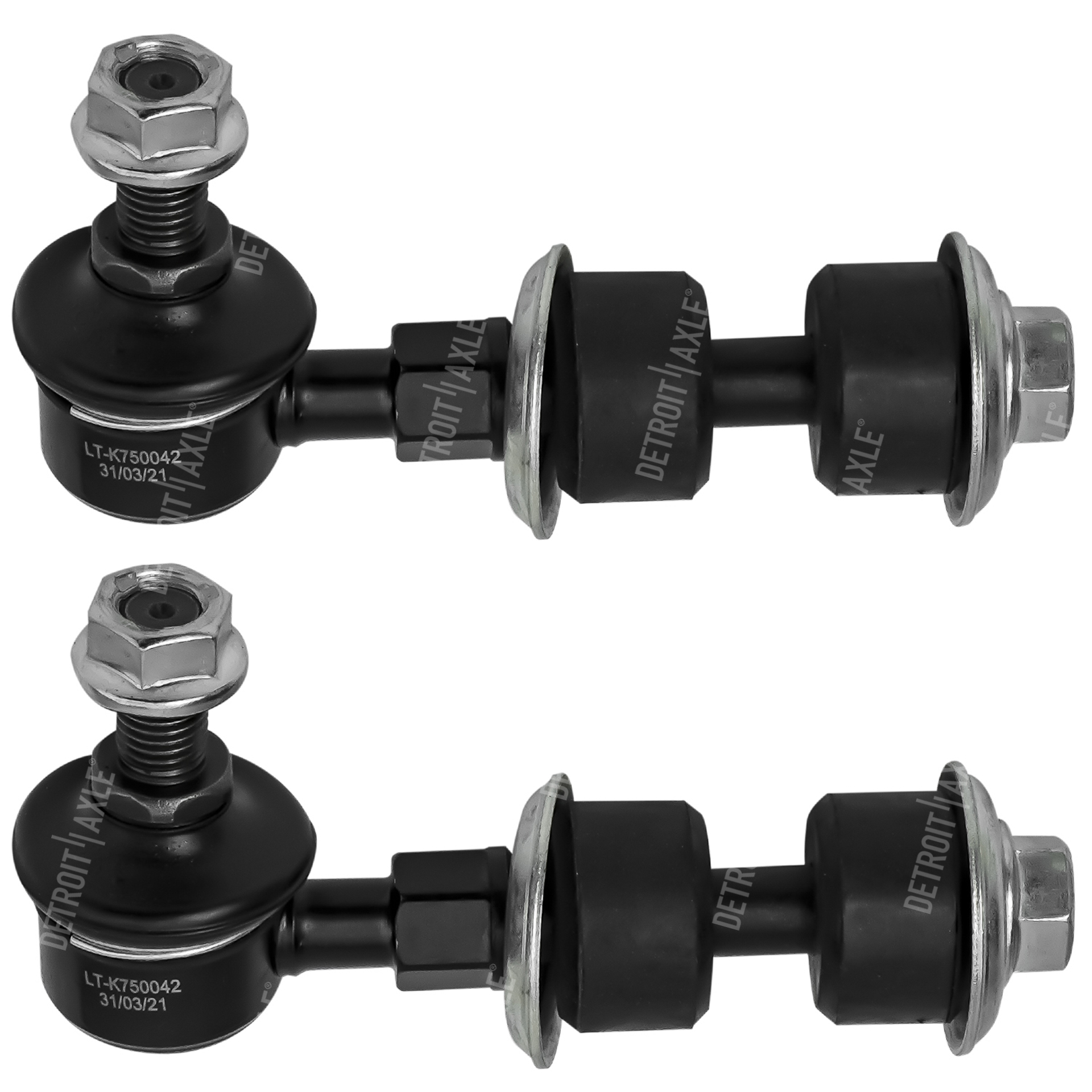Both (2) Brand New Front Stabilizer Sway Bar End Link - Driver and Passenger Side
