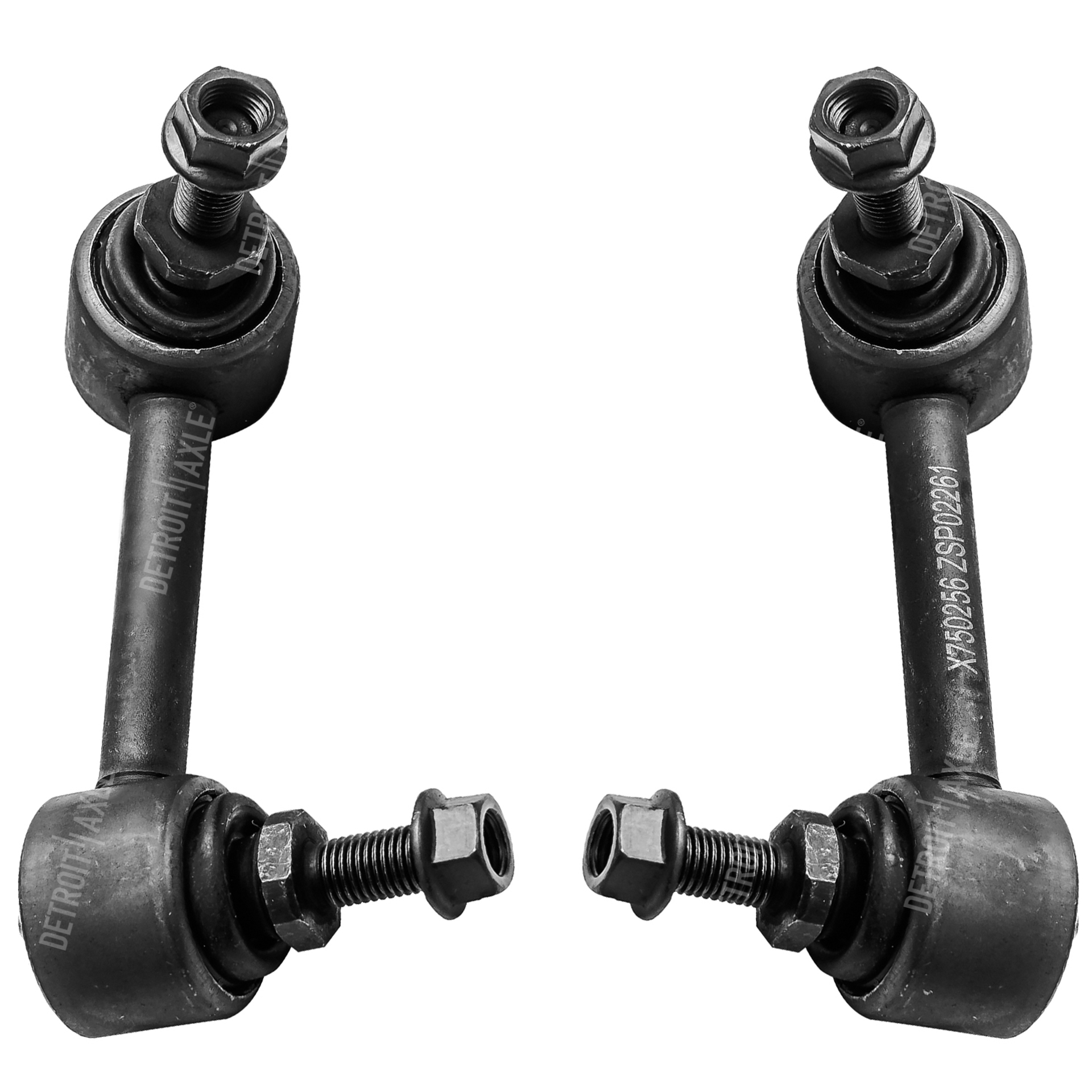 Both (2) Rear Stabilizer Sway Bar End Link - Driver and Passenger Side