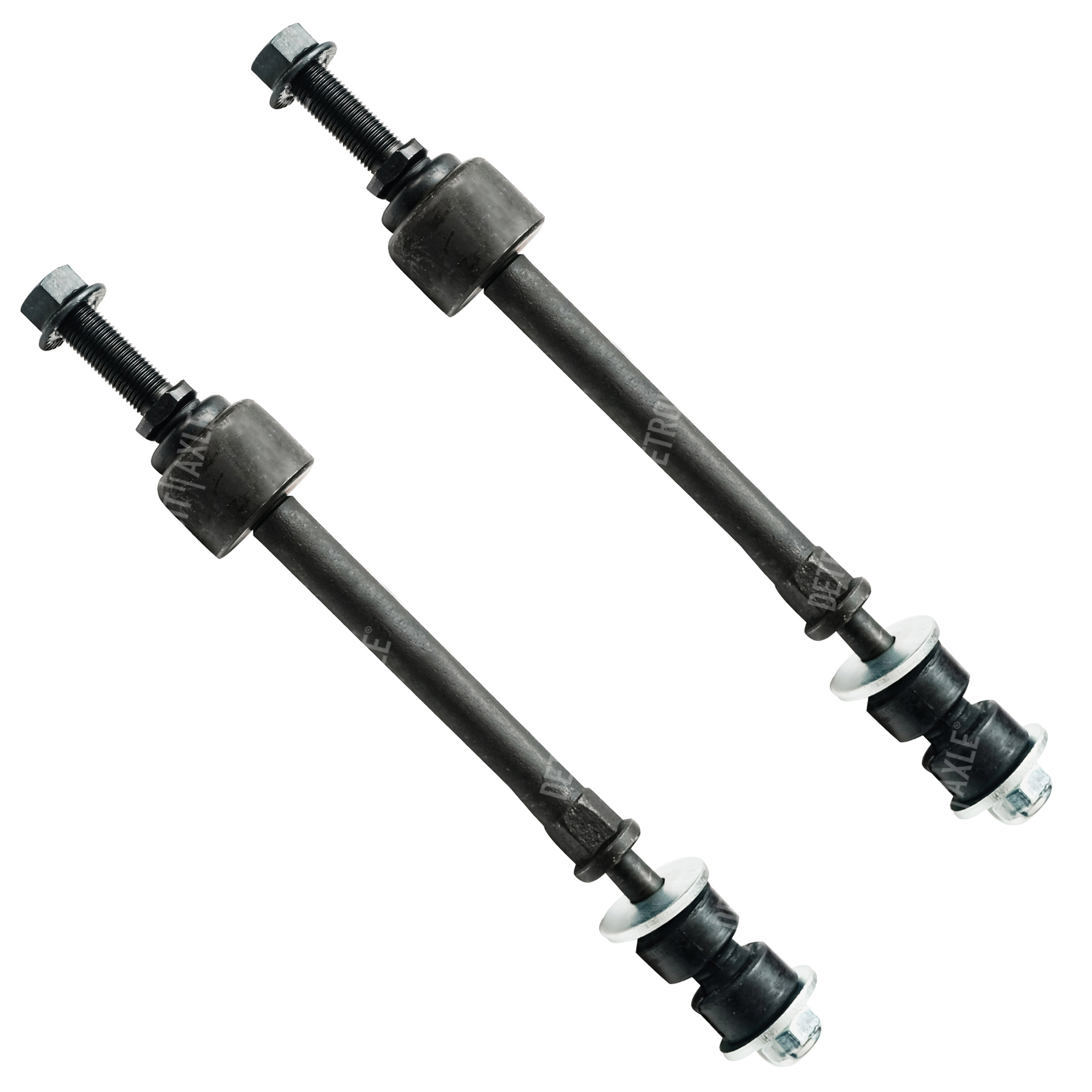 Both (2) Brand New Front Stabilizer Sway Bar End Link - Driver and Passenger Side fits 4x4 Only - 5-LUG
