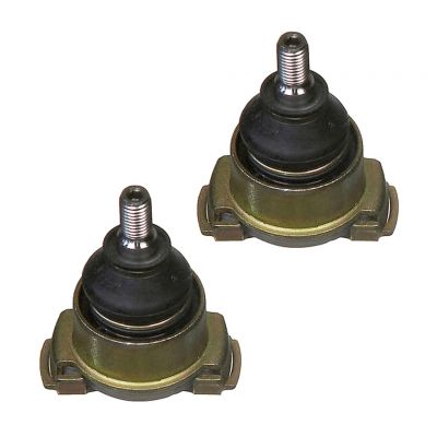 Both (2) Brand New Driver & Passenger Side Front Lower Outer Ball Joint - Short Stud