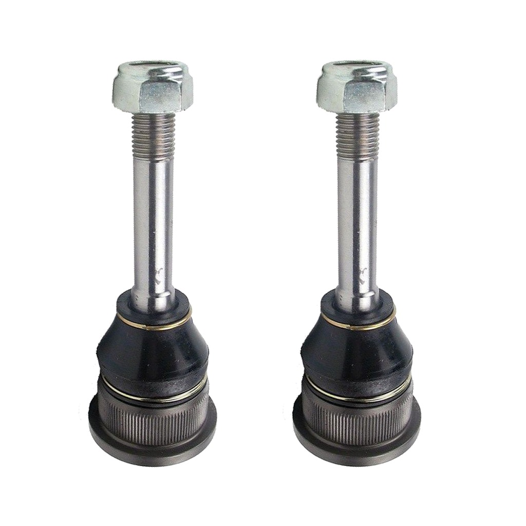 Both (2) Brand New Driver & Passenger Side Front Lower Inner Ball Joint - Long Stud