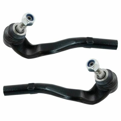 Pair (2) Front Outer Tie Rods for Mercedes-Benz - See Fitment