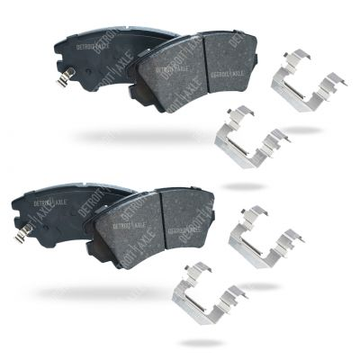Front Brake Pad Set - 321mm Front Rotor - Ceramic