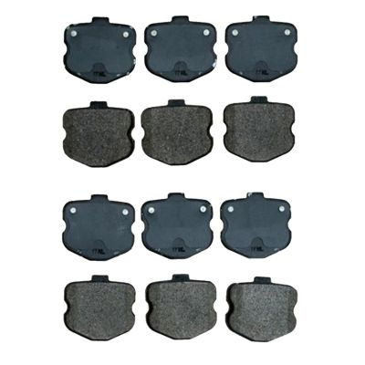 Front Ceramic Brake Pads for 2006-2013 Z06 / Grand Sport