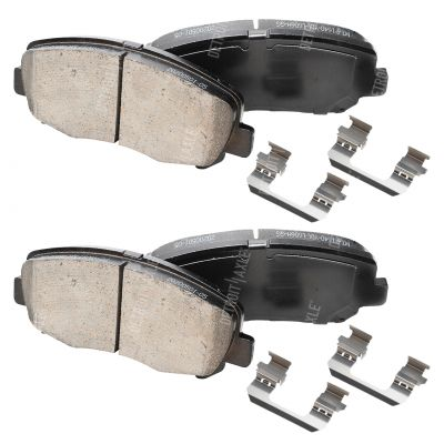Front Brake Pad Set - 305mm Front Rotor - Ceramic