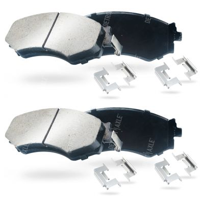 Front Brake Pad Set - with 5 Lug Wheels and ABS Brakes - Ceramic