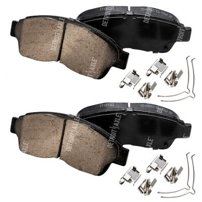 Front Brake Pad Set - 14inch Wheels - Ceramic