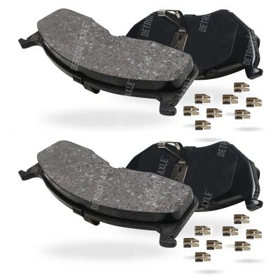Front Brake Pad Set - 15 in. or 16 in. Wheel - Ceramic