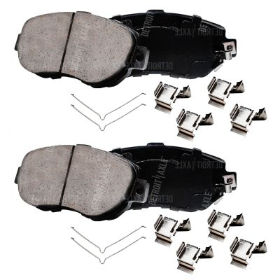 Front Brake Pad Set - Ceramic