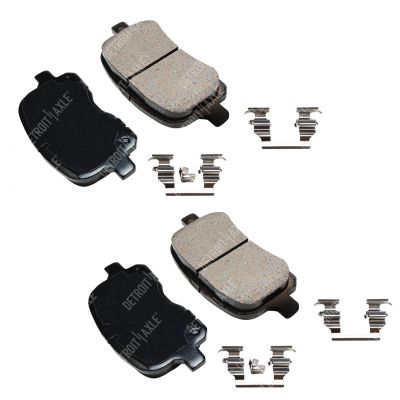 Front Brake Pad Set - 1.8L - Ceramic