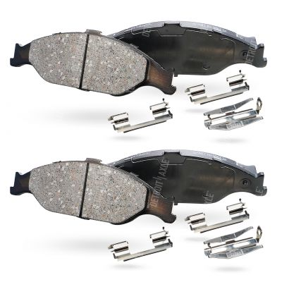 Front Brake Pad Set - Base or GT Models - Ceramic