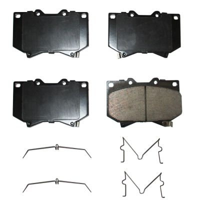 Front Ceramic Brake Pads for 00-03 Toyota Tundra w/4.7 INCH PAD LENGTH