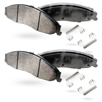 Front Brake Pad Set - 303mm Front Rotor, with Standard Brakes - Ceramic