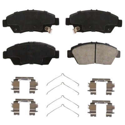 Front Ceramic Brake Pad Set for Honda Civic, CR-Z, Fit, Acura, ILX
