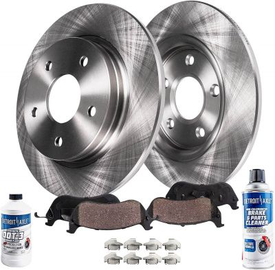 Rear Disc Brake Rotor + Pads Kit for 2002-2013 Nissan - See Fitment