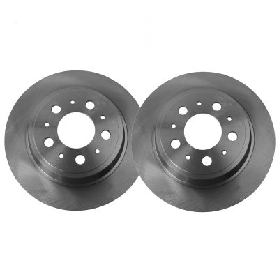 260mm Rear Disc Replacement Brake Rotors - 03-08 Acura, Honda - See Fitment