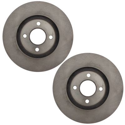 Front Disc Replacement Brake Rotors fit 2012 - 2018 Toyota Yaris 4 LUG