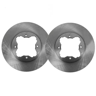Front Disc Brake Rotors - 10.24 inch Size, Check Fitment - Premium Grade
