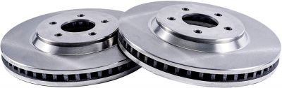 Front Disc Replacement Brake Rotors - 97-09 Saturn, Saab - See Fitment