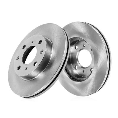 Front Disc Brake Rotors - 11.06 inch Size, Check Fitment - Premium Grade