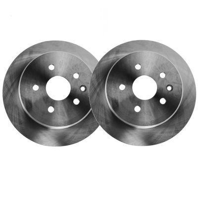 256mm Rear Disc Replacement Brake Rotors for Volkswagen Jetta - See Fitment