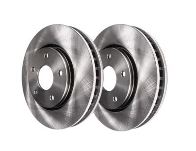 285mm Front Disc Replacement Brake Rotors - 2003-2010 Saab - See Fitment