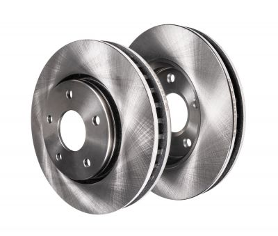 350mm Front Disc Replacement Brake Rotors - 06-12 Mercedes-Benz - See Fitment