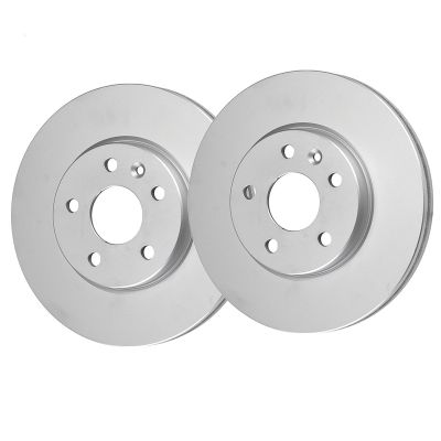 Front Disc Replacement Brake Rotors - 06-17 Land Rover - See Fitment