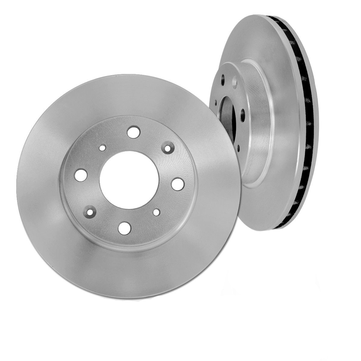 Supercharged V8 Ranger: Pair (2) Front Disc Brake Rotors For 2006-2009 Land Rover