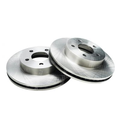Front Disc Replacement Brake Rotors - 2002 - 2007 Jeep Liberty - 5 LUG