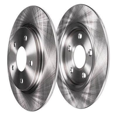 Rear Disc Replacement Brake Rotors, Jeep Wrangler, Liberty - See Fitment