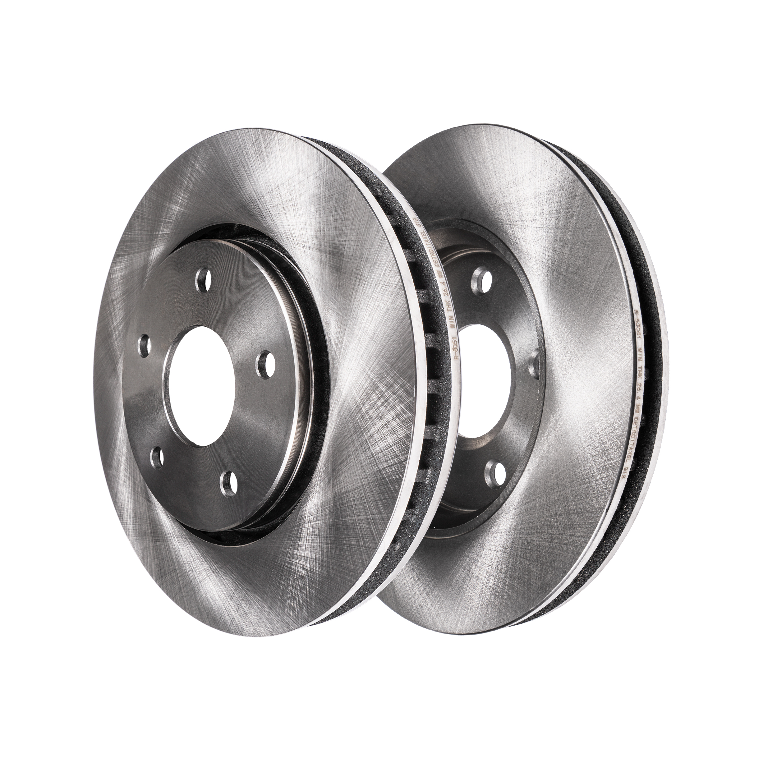 Premium FRONT Brake Rotors for 2011-2017 Dodge Durango w//o Heavy Duty Brakes Jeep Grand Cherokee w//17 wheels Detroit Axle 12.99 330mm