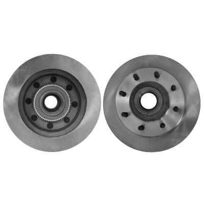 347mm Front Drilled Slotted Brake Rotor 54124 For Ford F-250 350 Super Duty
