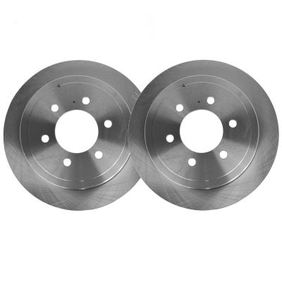 Drilled Slotted Rear Brake Rotors #R-54100- Expedition/Navigator