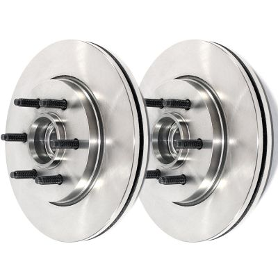 6 Lug Standard Front Brake Rotors 2WD #R-54107 x2- F-150/Mark LT