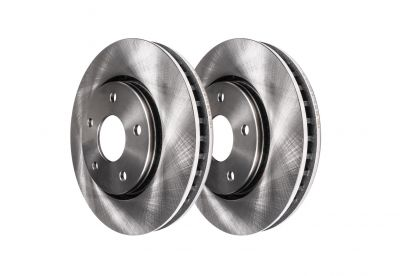 Brake Rotors Pair (2) (Rear) #R-54156 - 07-10 Edge, 07-10 MKX