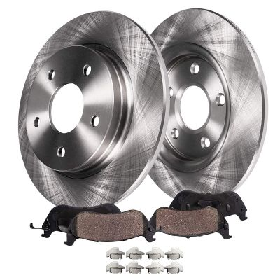 302mm Rear Disc Brake Rotors Ceramic Pads | Ford Lincoln Models
