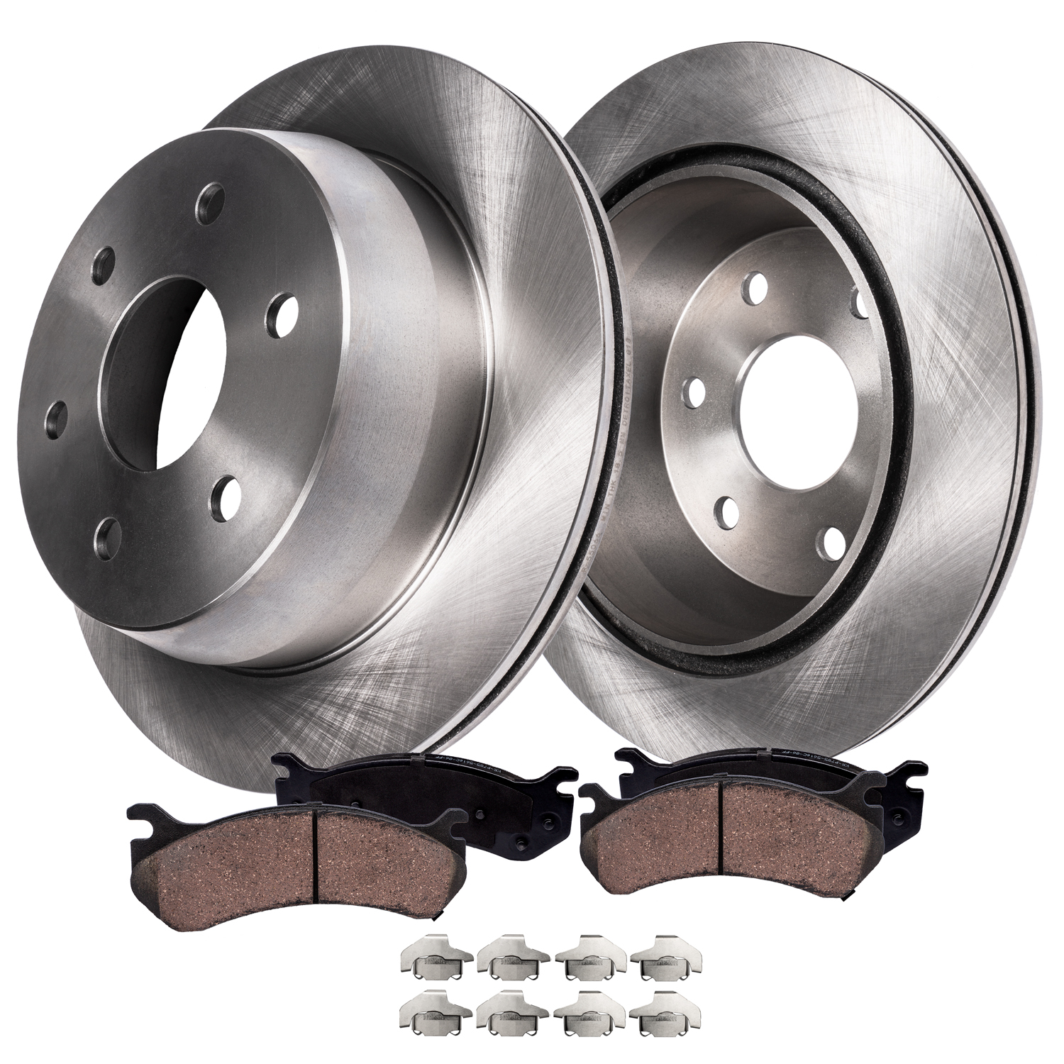 Brakes And Rotors >> Rear Brakes Rotors Ceramic Brake Pad Kit Chevy Gmc